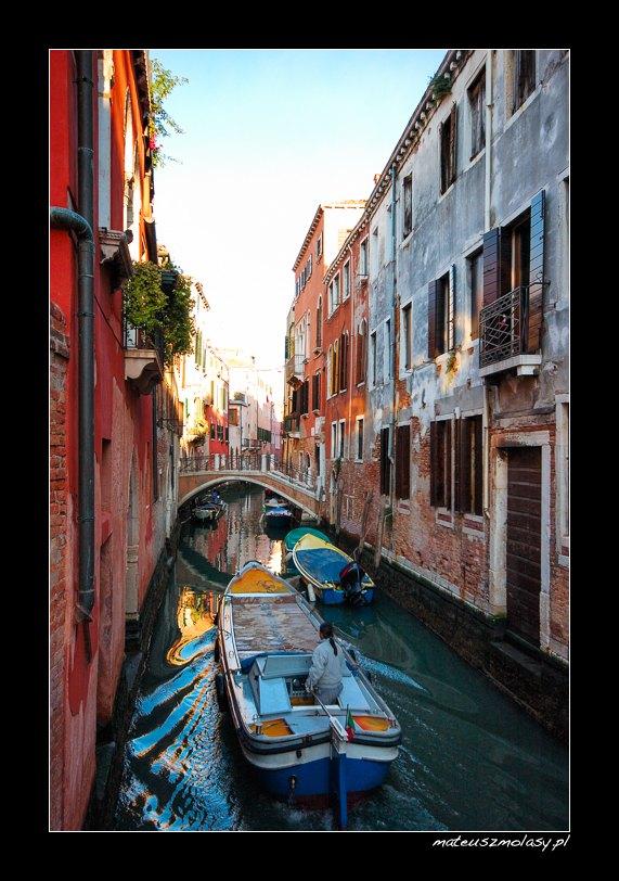 Kanały, Wenecja, Włochy | Canals, Venice, Italy