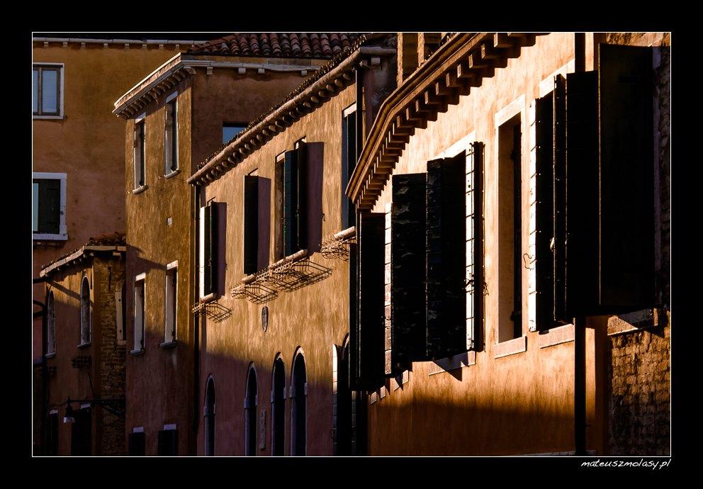 Okiennice, Wenecja, Włochy | Shutters, Venice, Italy