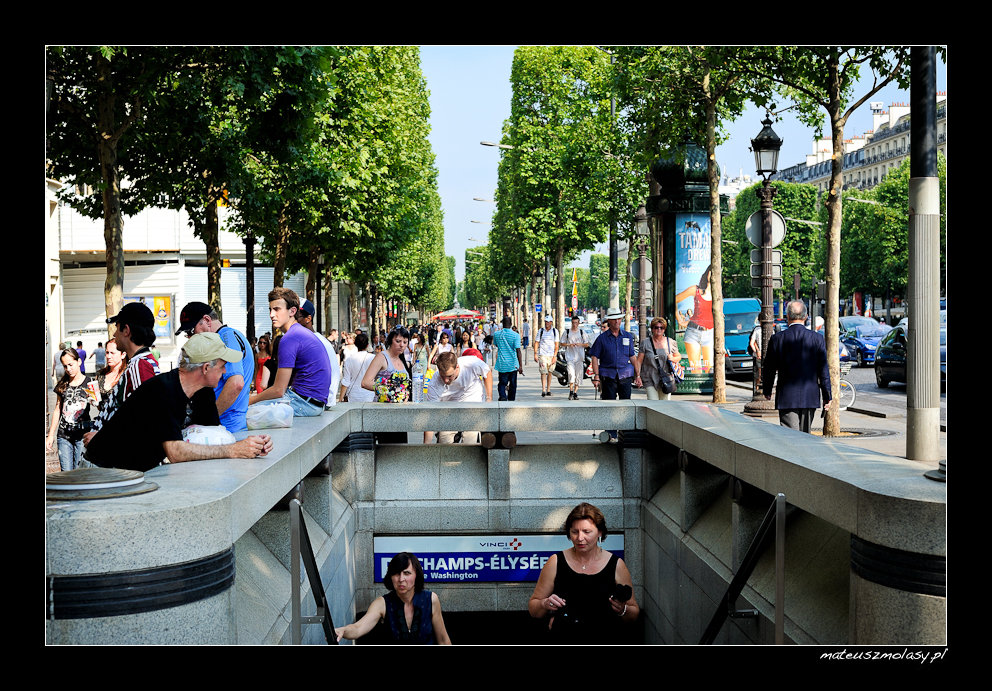Les Champs Elysees, Paris, France