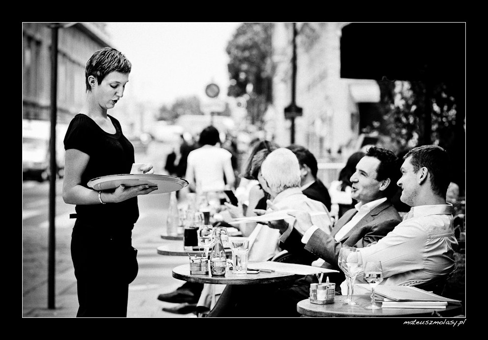 Everyday Life in Paris, France