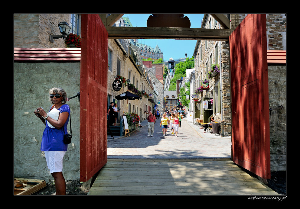 The Old Town of Quebec City, Canada