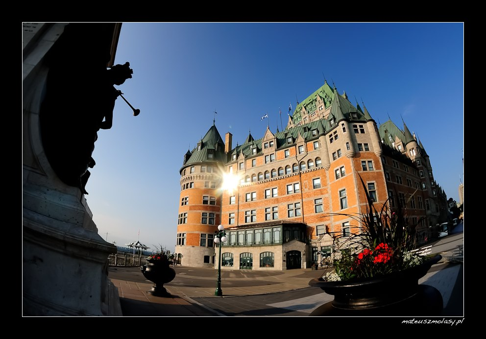 Hotel Frontenac, The Old Town of Quebec City, Canada