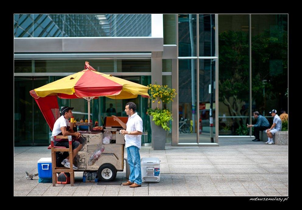 Hot-dogs, Toronto, Ontario, Canada