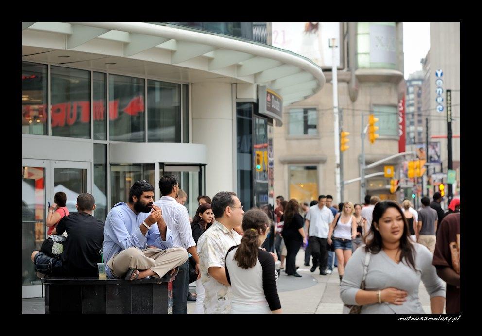 Dundas Square, Toronto, Ontario, Canada