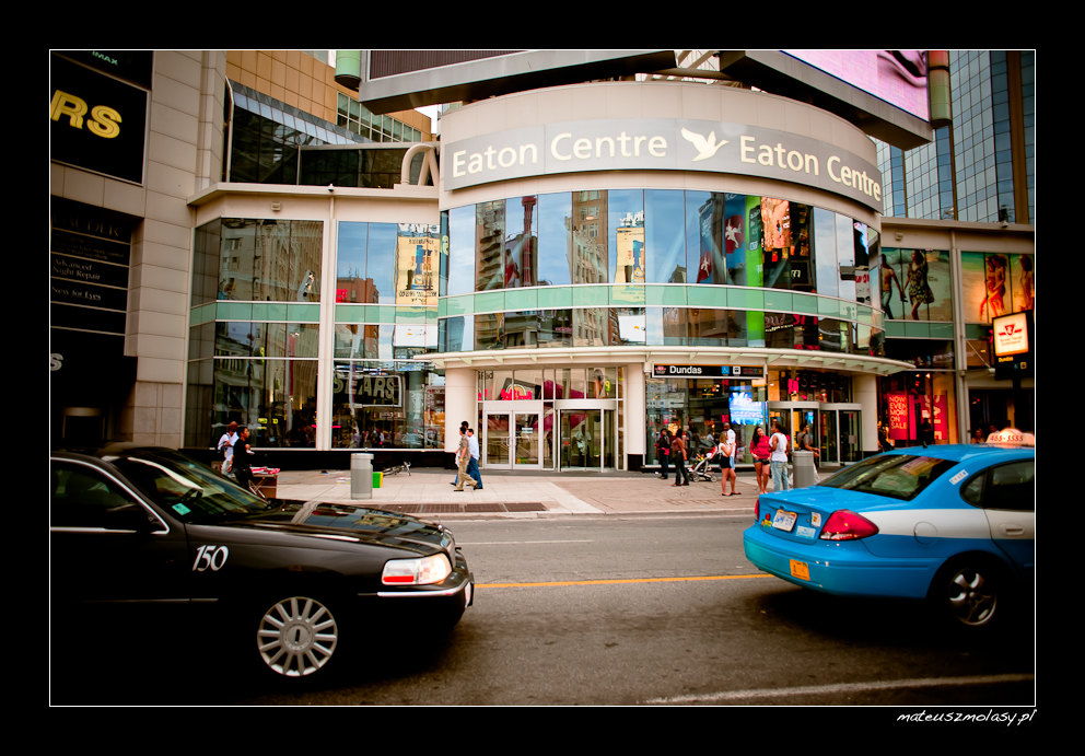 Eaton Centre, Dundas Square, Toronto, Ontario, Canada