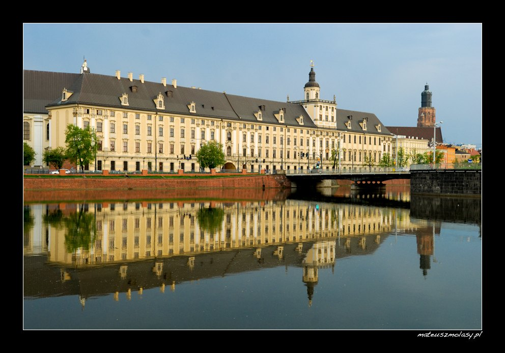 Uniwersytet Wrocławski, Wrocław, Polska, Wrocław University, Poland