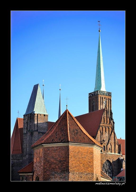 Ostrów Tumski, Wrocław, Polska