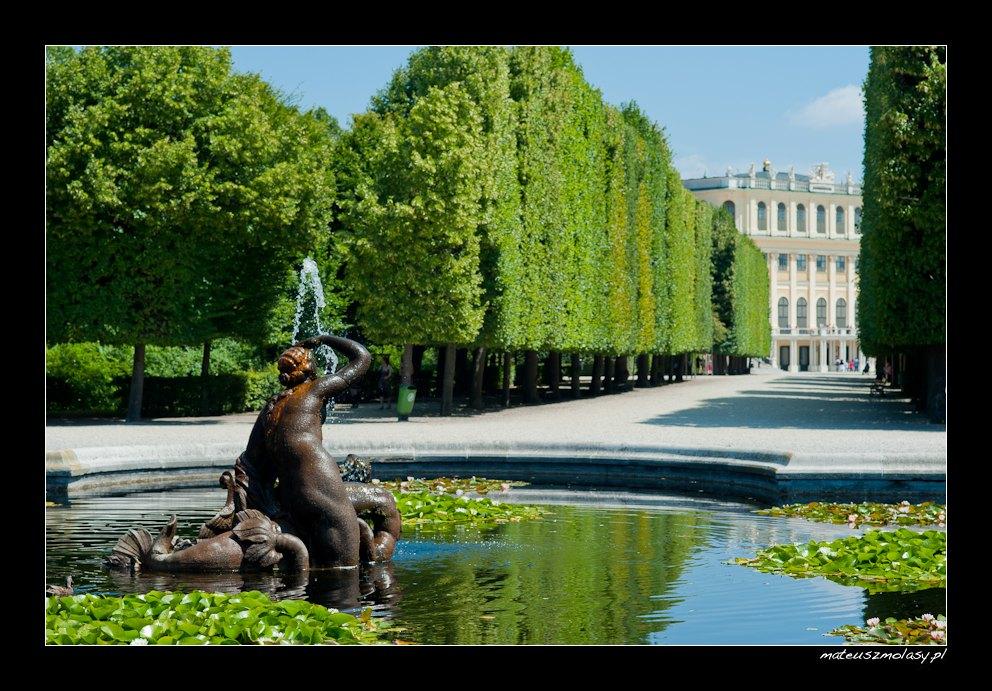 Schoenbrunn, Wiedeń, Vienna, Wien, Austria