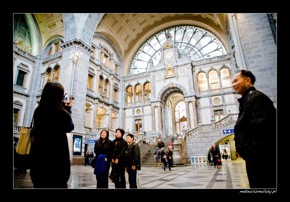 Railway Station, Centraal, Antwerp, Antwerpen, Antwerpia, Belgium, Belgia