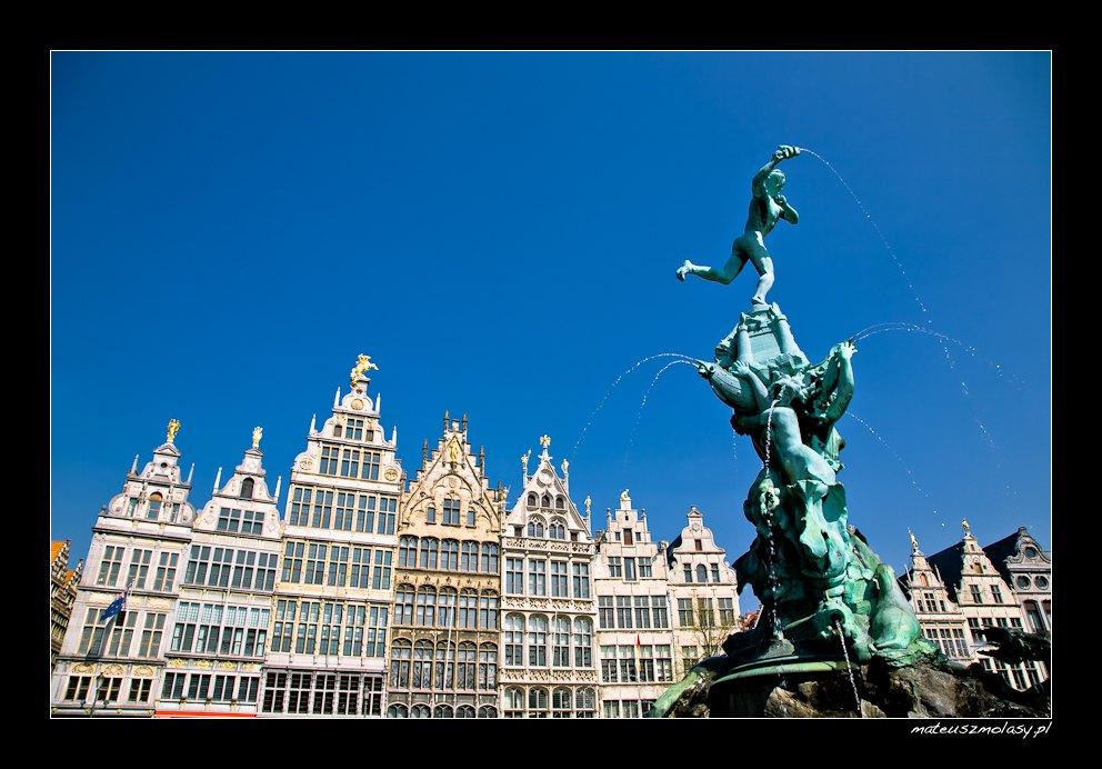 Grote Markt, Antwerp, Antwerpen, Antwerpia, Belgium, Belgia
