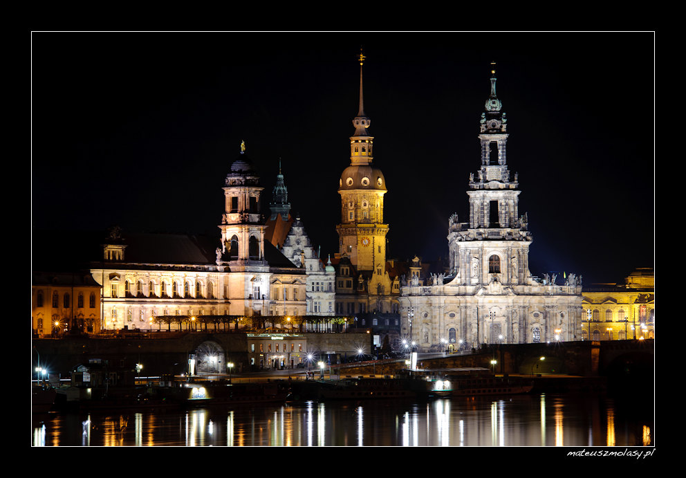 Dresden by Night, Germany, Deutschland