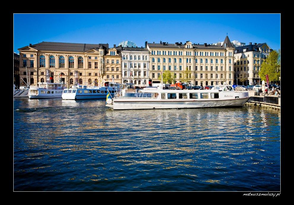 Nybrokajen | Sztokholm, Szwecja | Stockholm, Sweden