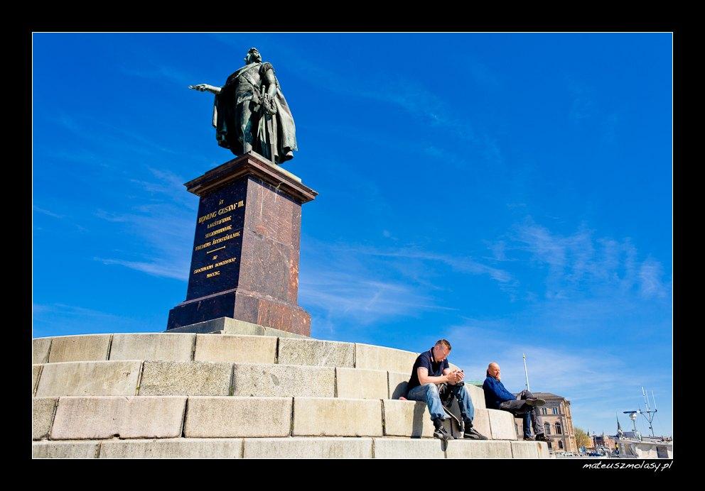 Gustaf III | Sztokholm, Szwecja | Stockholm, Sweden