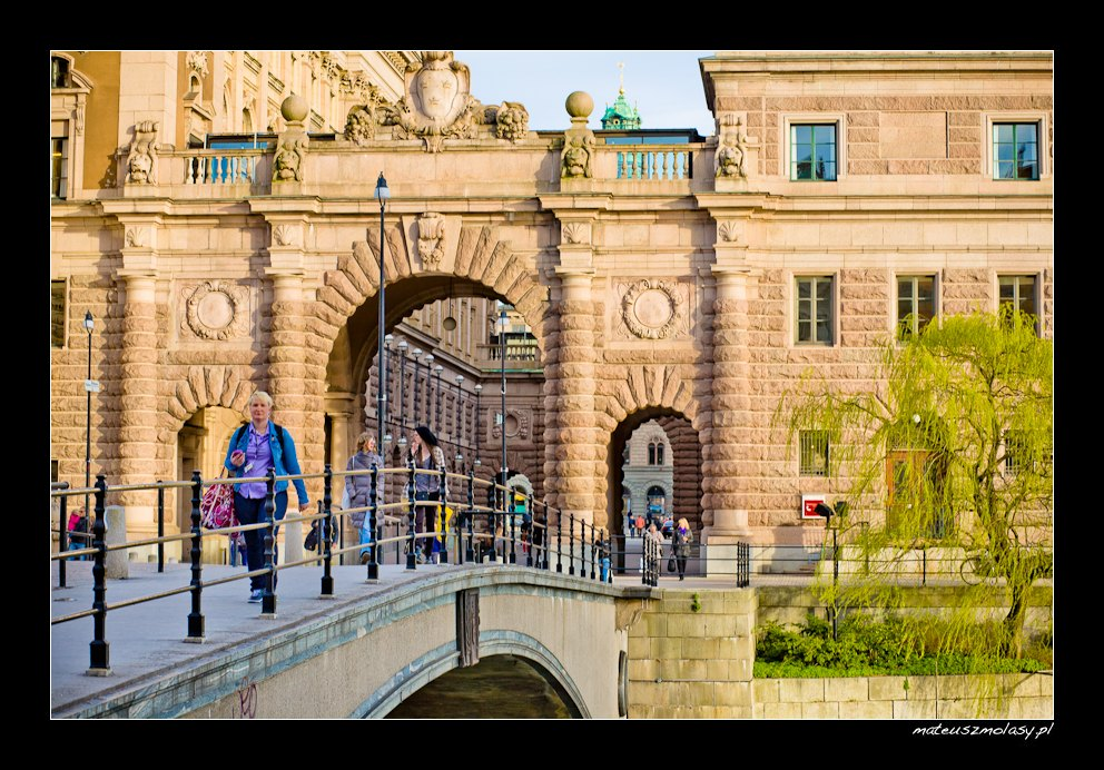 Riksgatan | Stare Miasto, Sztokholm, Szwecja | Gamla Stan, Stockholm, Sweden