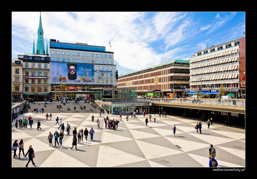 Sergels Torg | Sztokholm, Szwecja | Stockholm, Sweden
