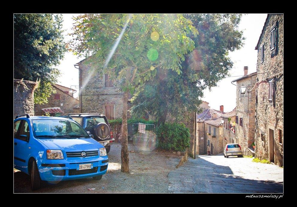 Cortona, Toskania, Włochy