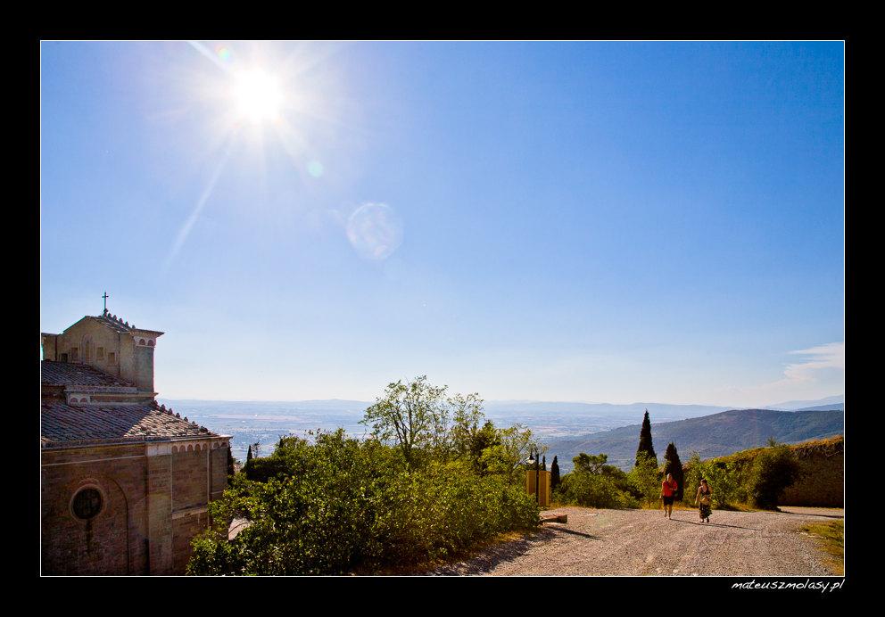 Sunny Day, Cortona, Tuscany, Italy