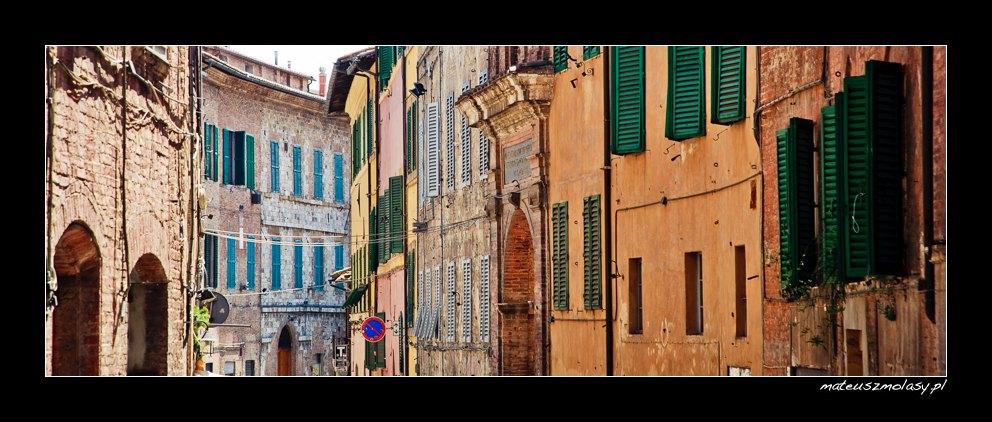 Panorama, Siena, Tuscany, Italy