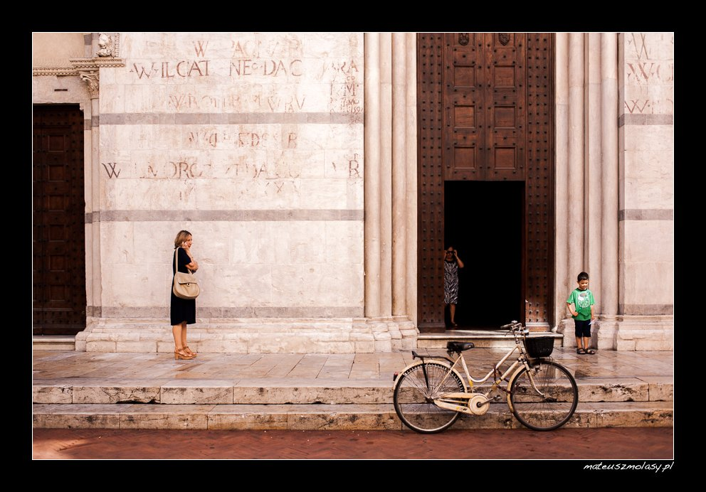 Life in Pisa, Tuscany, Italy