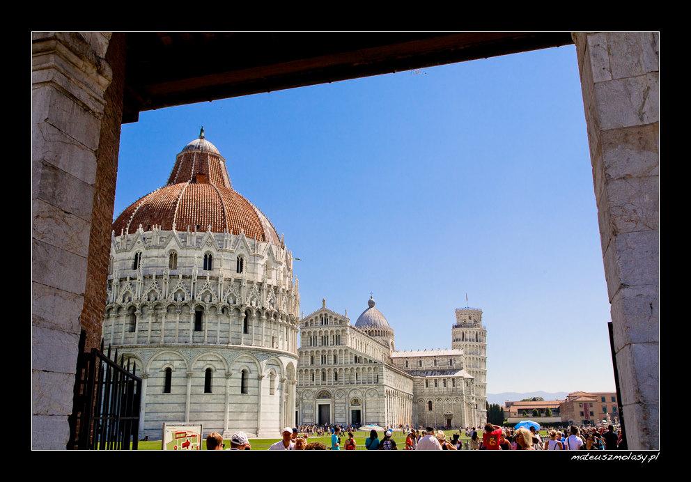 Krzywa wieża w Pizie, Piza, Toskania, Włochy