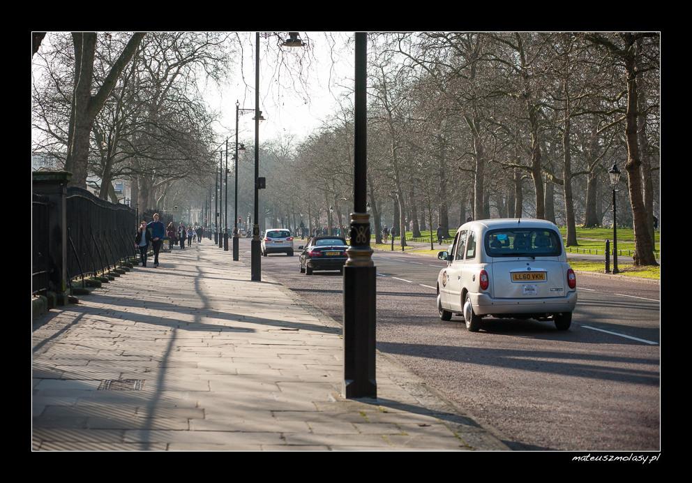 London, Birdcage Walk