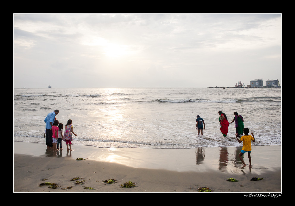 Fort Kochi Beach, Kerala, India