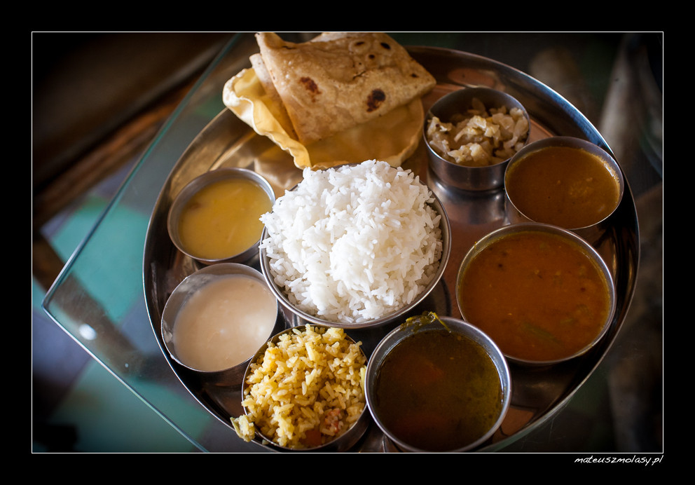 Indian Food in India
